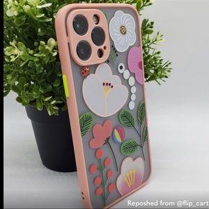 iPhone 12 Pro Max Case Flora